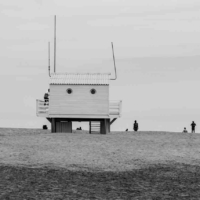 At the beach - Emergency Station - Gruissan - France