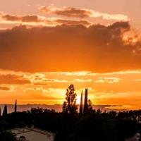 Sunset - St Martin de Crau - France-3
