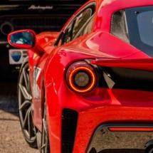 Ferrari - Lamborghini - Mont Ventoux - France