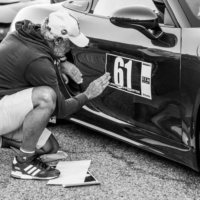 Porsche Speedster Sticker N°61 - Supercar Experience - Mont Ventoux - France